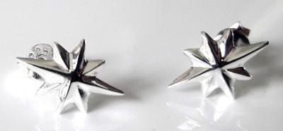 Christmas-Star-Studs