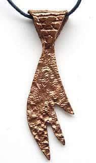 Copper-Claw-Pendant