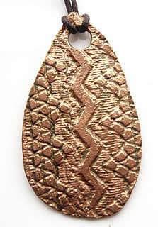 Copper-Snake-Pendant