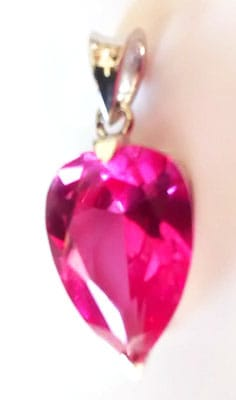 INVERTED-PEAR-SIBERIAN-PINK-PENDANT-TOP