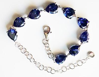 Lab-Cretaed-Tanzanite-Pear-Bracelet_1[1]