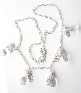 crytsal-and-silver-drops-necklace