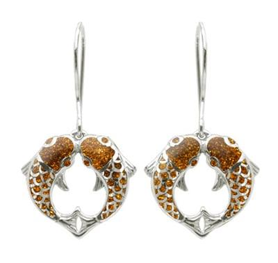 golden-carp-earrings