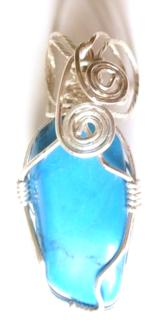 howlite-tumbelstone-wire-wrapped-pendant
