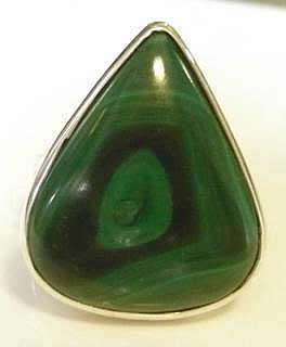 malachite-pear-ring