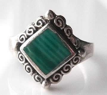 malachite-square-ring