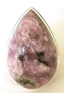 pear-charoite-ring