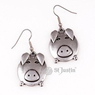pewter-pig-earrings