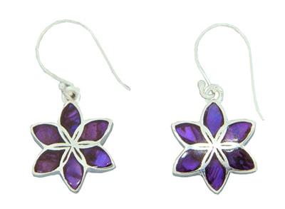 purple-shell-lily-earrings