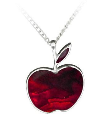 red-shell-apple-pendant
