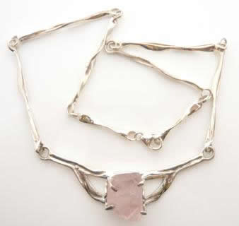 rose-quartz-rough-necklace