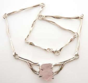 rose-quartz-rough-necklace
