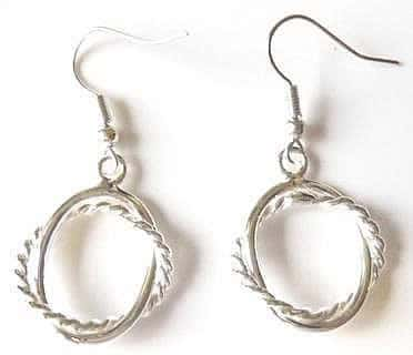 silver-plated-twist-earrings