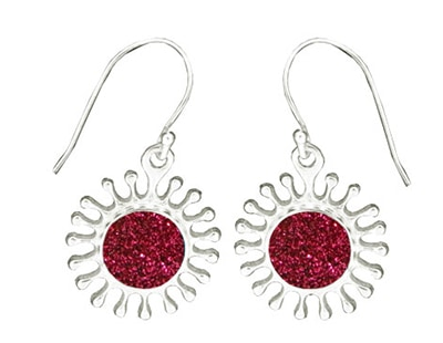 splash-pink-glitter-earrings
