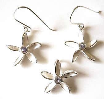 tanzanite-flower-set