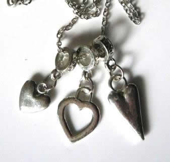 three-heart-charm-necklace