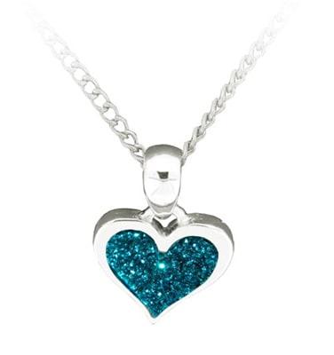 turquoise-glitter-heart-pendant
