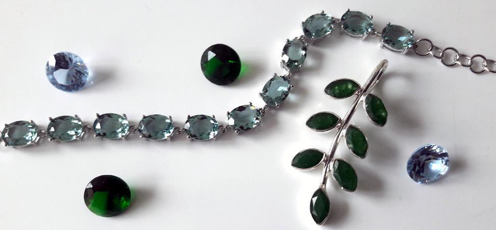 Green tone jewellery